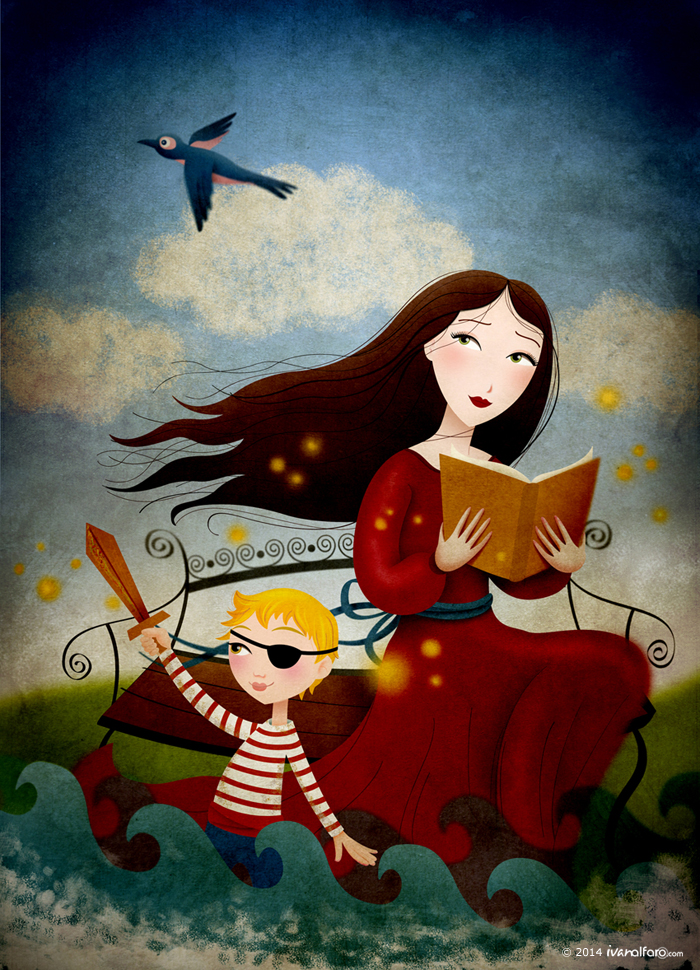 ivan-alfaro-cuentos-de-hadas-ilustracion